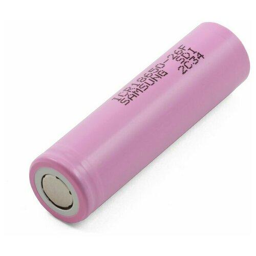 Фото - Аккумулятор Samsung 18650 (5.2A, 2600mAh, ICR18650-26F) аккумулятор незащищенный sanyo ncr18650bf 18650 3400мач 3 7в