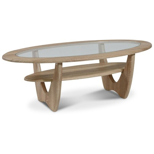 Столик журнальный Калифорния мебель Юпитер СЖС-01, ДхШ: 120 х 62 см, дуб сонома недорого