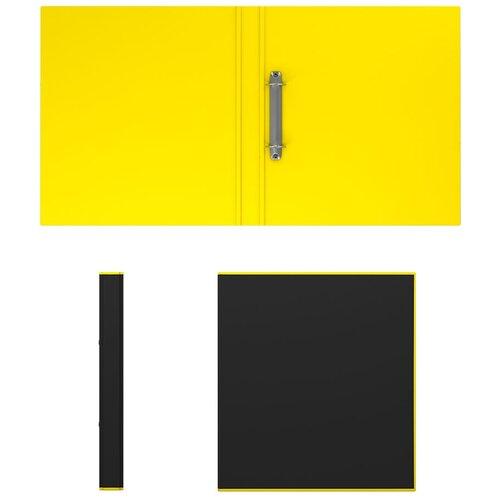 Фото - Папка–регистратор на 2 кольцах ErichKrause®, Accent, А4, 35 мм, желтый erichkrause папка–регистратор на 2 кольцах neon а4 35 мм розовый