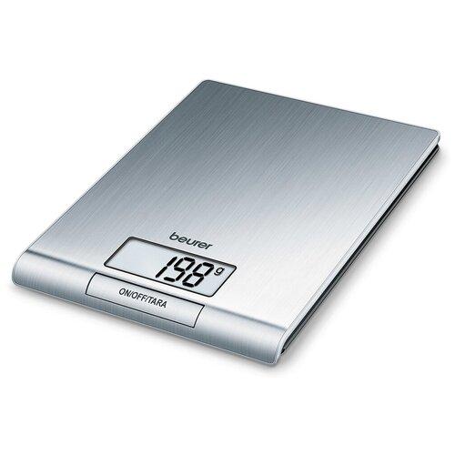 Фото - Кухонные весы Beurer KS 42 серебристый кухонные весы beurer ks 51