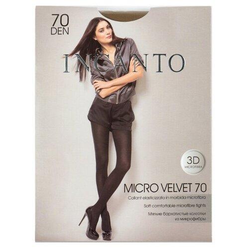 Колготки Incanto Micro Velvet, 70 den, размер 5-XL, daino (коричневый)
