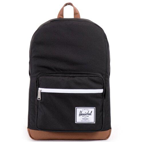 Городской рюкзак Herschel Pop Quiz 22, Black/Tan Synthetic Leather