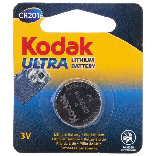 Фото - Батарейка Kodak CR2016, 3 В BL1 батарейка kodak 23a сигнализаций пультов игрушек электрошокеров