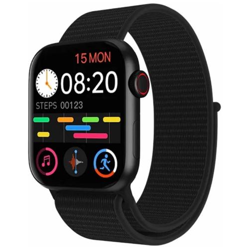 Умные часы IWO HW18 Series 6, два ремешка, 40мм, черные