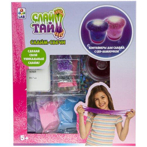 Набор 1 TOY Слайм тайм. Слайм-свечи (T18273) бластер 1 toy слайм призрачный патруль т15832