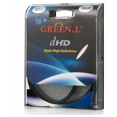 Фото - Светофильтр Green-L (Soft) - 62mm светофильтр green l soft 40 5mm