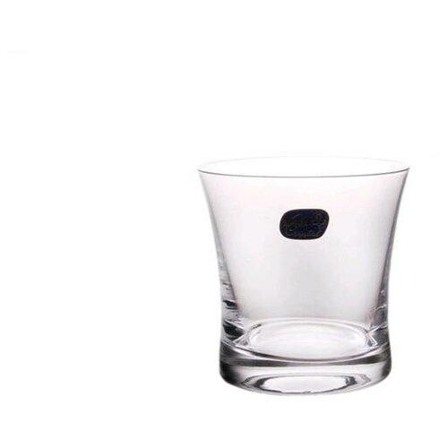 Набор стаканов для виски Bohemia Crystal Грация 280 мл, 6 шт