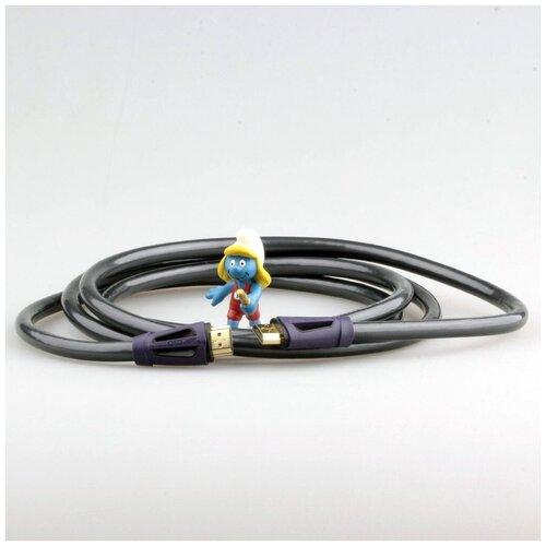 брюки qed london qed london qe001ewbofl0 Кабель HDMI - HDMI QED (QE6005) Performance HDMI Graphite 0.6m