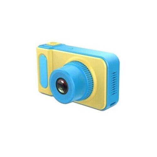 Фото - Детский цифровой фотоаппарат Kids Camera, Синий детский цифровой фотоаппарат собачка розовый kids camera pink