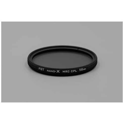 Фото - Поляризационный фильтр FST 58mm Nano-X CPL поляризационный фильтр fst 77mm nano x cpl