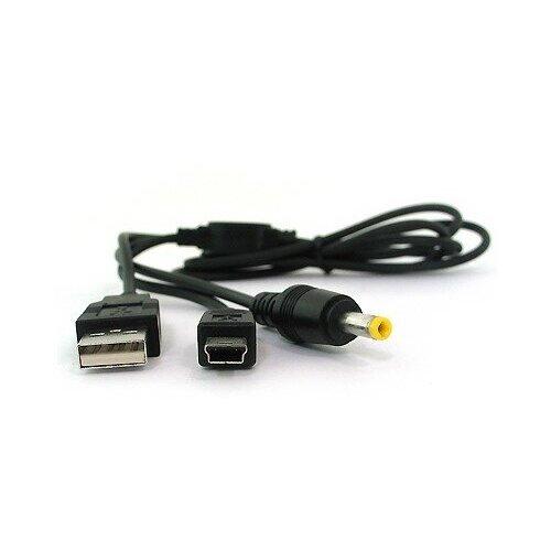 Кабель-переходник MyPads для передачи данных и подзарядки 2В1 для игровой приставки PSP 1000/ PSP 2000/ PSP 3000/ PSP E1000
