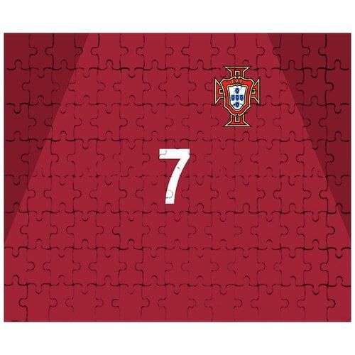 Пазл магнитный на тему чемпионата мира по футболу 2018, форма - Роналдо, Португалия