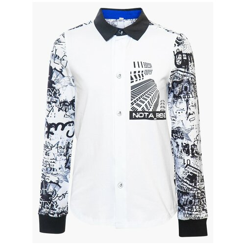Рубашка Nota Bene размер 122, мультиколор