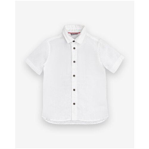 Рубашка Gulliver размер 128, белый