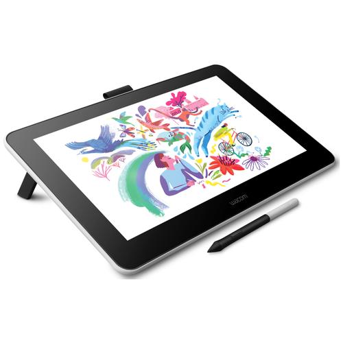 Интерактивный дисплей WACOM One (DTC133) черный