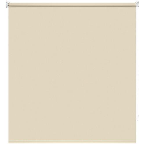 Рулонная штора DECOFEST Плайн Мини (кремово-бежевый), 60х160 см штора римская сафари 60х160 см бежевый