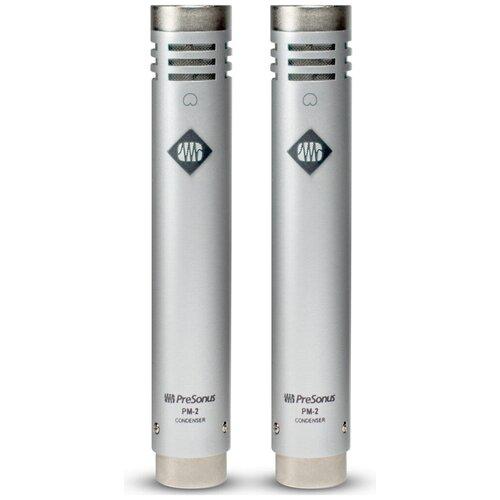 Комплект микрофонов PreSonus PM-2, серебристый