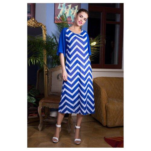 Пляжная туника Mia-Mia Carlin, размер L(48), синий/белый