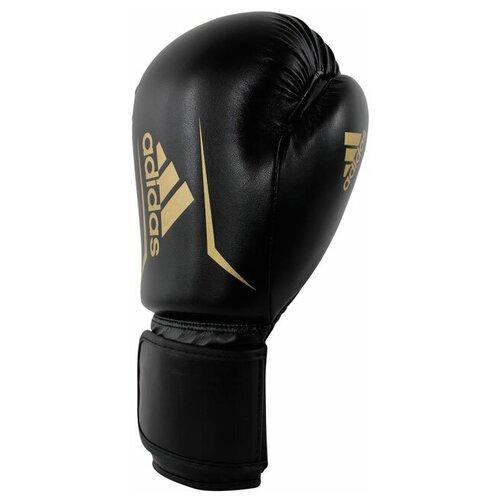 Боксерские перчатки adidas Speed 50 черный/золотистый 12 oz
