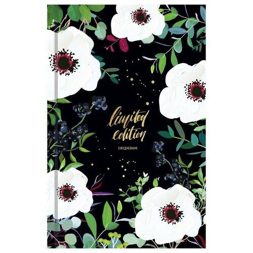 Купить Ежедневник недатированный Ночные цветы А5, 128 листов, OfficeSpace, Ежедневники, записные книжки