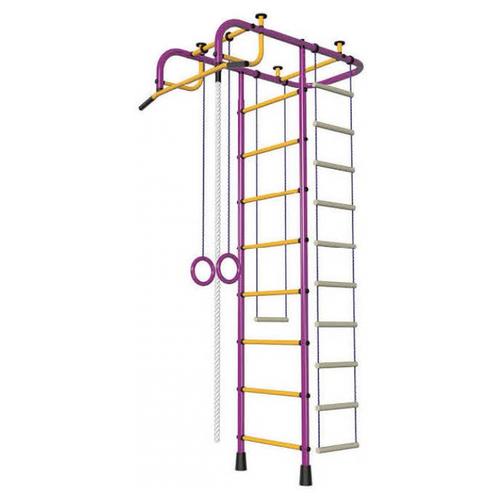 Спортивно-игровой комплекс Пионер ДСК Пионер, пурпурный/желтый