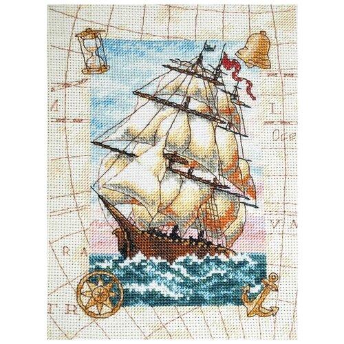 Набор для вышивания «Кораблик», 13x18 см, Dimensions