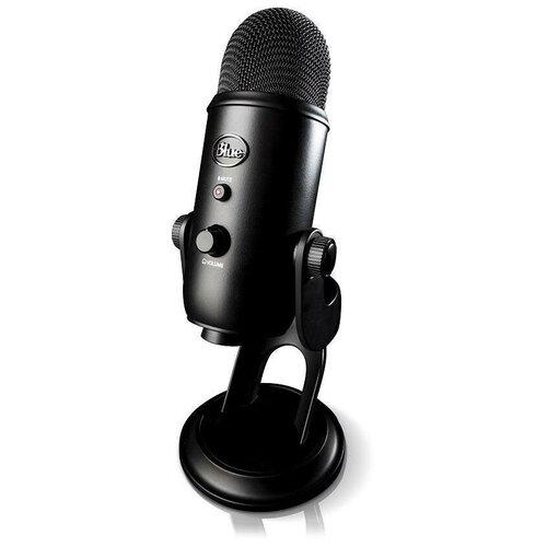 Микрофон Blue Microphones Yeti черный