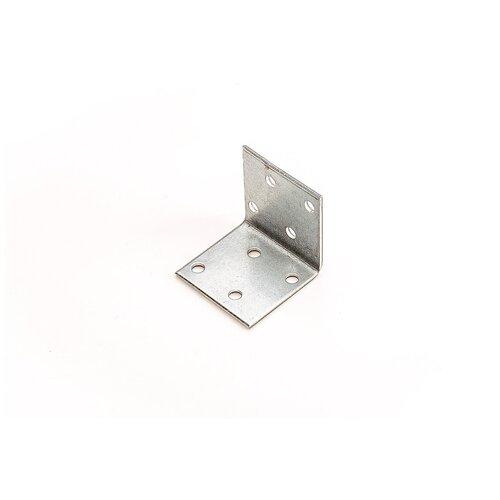 Крепежный уголок Стройметиз 60х80х80, покрытие - цинк, 1 шт.