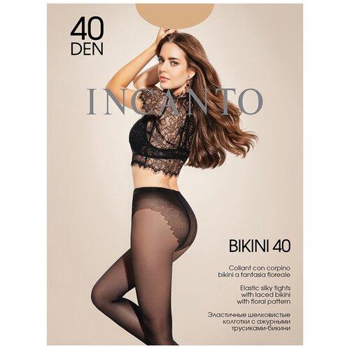 Колготки Incanto Bikini, 40 den, размер 4-L, melon (бежевый)