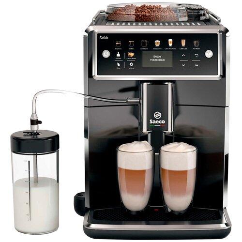 Кофемашина Saeco SM7580 Xelsis, черный