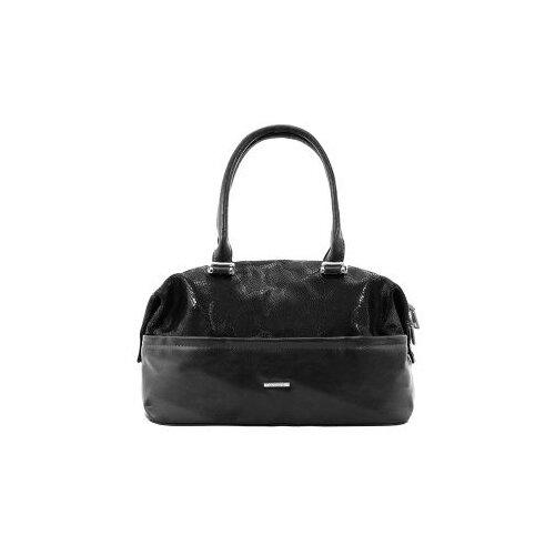 322-70 2245 Женская сумка замшевая Ludor Черный