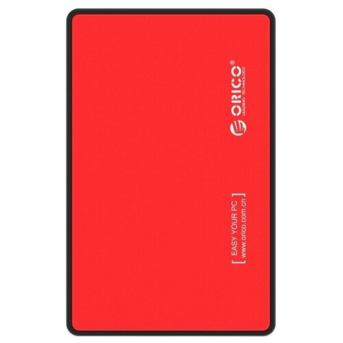 Корпус для HDD/SSD ORICO 2588US3 красный