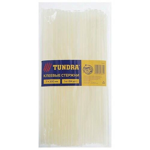 Клеевые стержни TUNDRA, 7 х 300 мм, 1 кг (84 шт.) 1818332