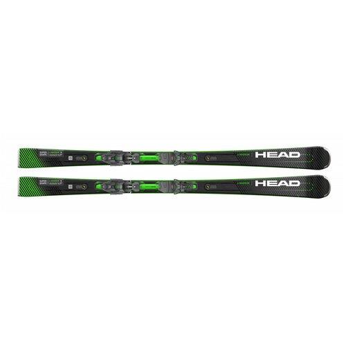 Горные лыжи с креплениями HEAD Supershape e-Magnum (20/21), 163 см