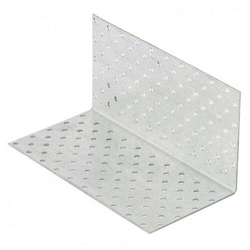 Крепежный уголок равносторонний 2, 0 мм, KUR 100x100x200 мм, Сибртех