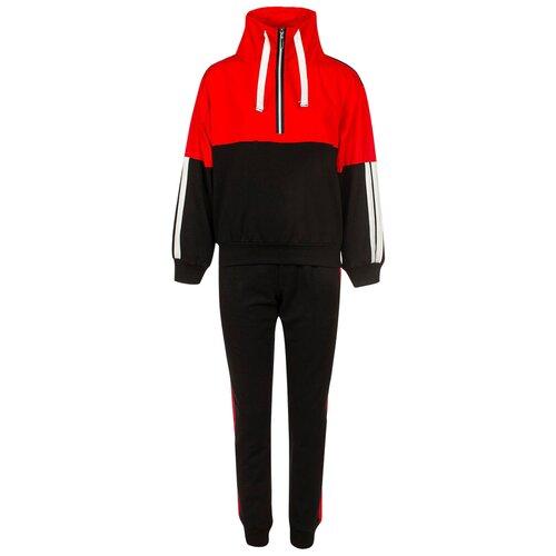 Спортивный костюм Nota Bene размер 110, черный/красный