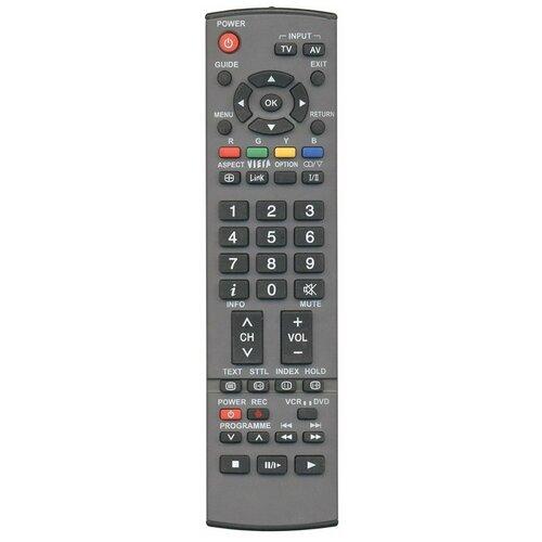 Пульт ДУ Huayu EUR7651150 для телевизоров Panasonic TX-26LXD70A/TH-37PX7E/TH-50PX7E/TH-42PX7A/TX-26LMD70/TH-42PX7E, серый