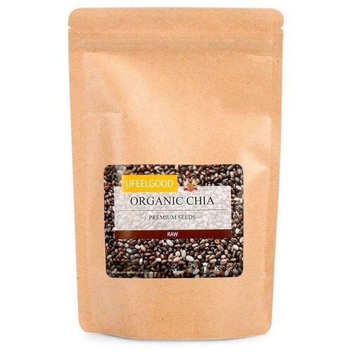 Семена чиа UFEELGOOD рассыпные, бумажный пакет, 200 г недорого