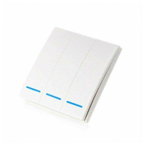 Умный беспроводной выключатель (3 клавиши) Sibling Powerlite-M3 (Белый)