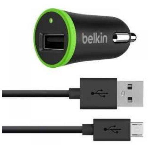 Фото - Зарядное устройство Belkin Универсальное АЗУ Universal Car Charger, 1A includes micro usb cable зарядное устройство belkin universal microusb white