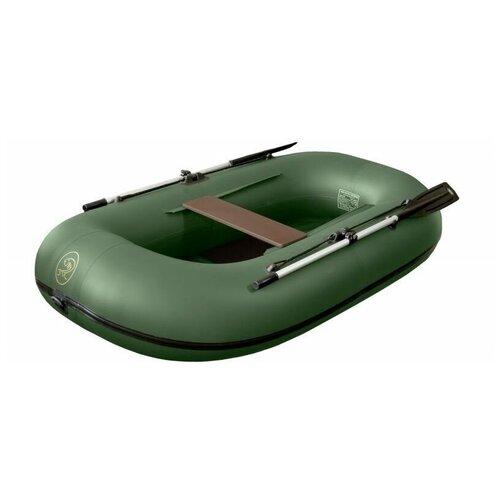 Надувная лодка BoatMaster 250 Эгоист зеленый