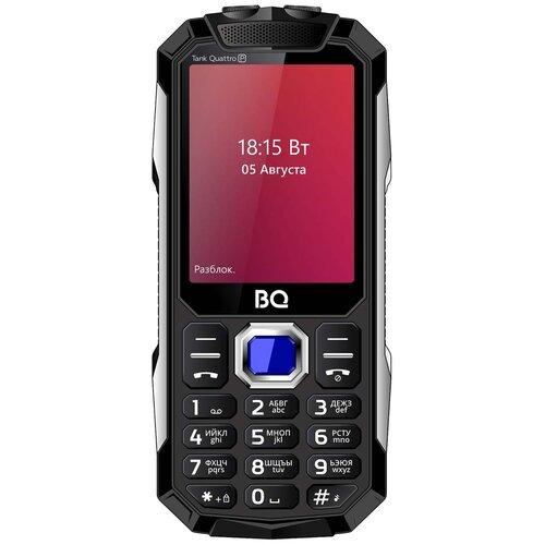 Телефон BQ 2817 Tank Quattro Power, черный мобильный телефон bq bq 2812 quattro power black