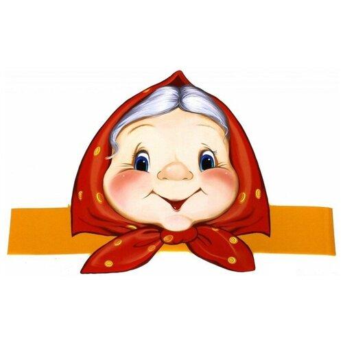 Купить Маска-ободок Бабка , Творческий Центр СФЕРА, Карнавальные костюмы