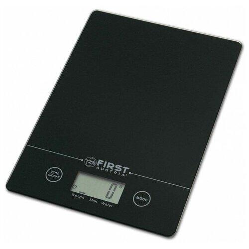 Кухонные весы FIRST AUSTRIA 6400 черный недорого