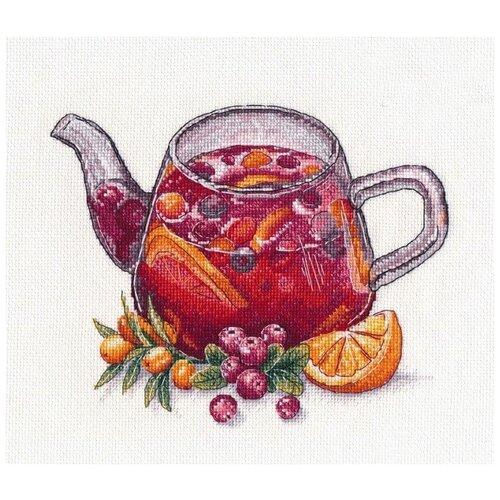 Купить Овен Набор для вышивания Ягодный чай 20 x 16 см (1364), Наборы для вышивания
