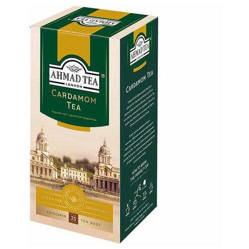 чай черный ahmad tea таинственные сумерки ассорти в пакетиках 30 шт Чай черный Ahmad Tea Кардамон в пакетиках, 25 шт.