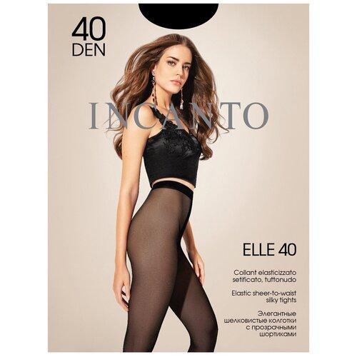 Колготки Incanto Elle, 40 den, размер 4-L, nero (черный)