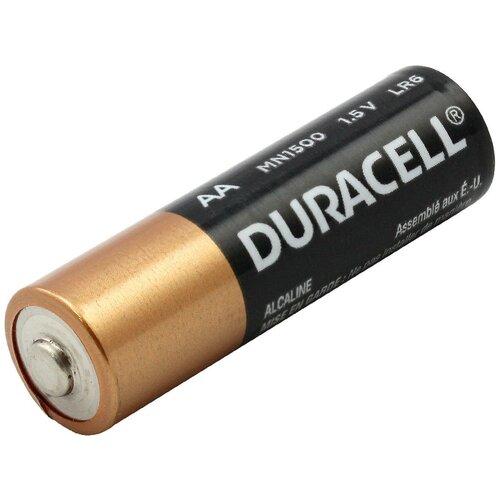 Батарейка Duracell Basic AA, 1 шт. батарейка duracell basic aa 6 шт блистер