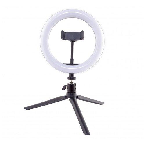 Фото - Осветитель Rekam RL-20 LED Table Kit, для смартфона, 10 Вт, 3000 / 5800 К штатив rekam rl 20 led table kit настольный черный
