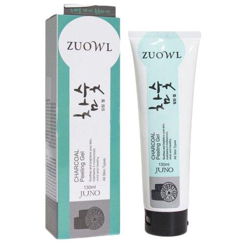 Juno пилинг-скатка для лица Zuowl Charcoal Peeling Gel 130 мл